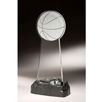 EZ Basketball Acrylic Awards