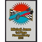 Pinewood Derby 1st Place Plaques