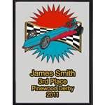 Pinewood Derby 3rd Place Plaques