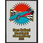 Pinewood Derby Most Detail Plaques