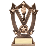 Star Victory Resin Trophies