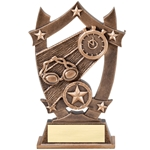 Sports Star Swimming Resin Trophies