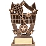 Sports Star Tennis Resin Trophies