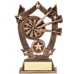 Sports Star Darts Resin Trophies