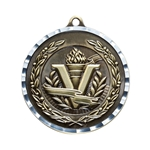 Victory Gold Diamond Cut Medals