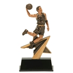 Basketball Male Star Power Trophies