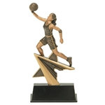 Basketball Female Star Power Trophies