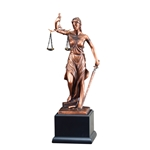 Lady Justice Gallery Resin Trophies