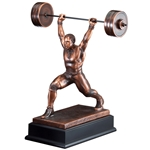 Weightlifter Male Trophies