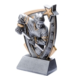 3D Star Hockey Shooter Resin Trophies