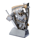 3D Star Hockey Goalie Resin Trophies