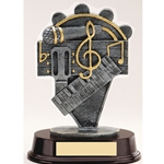 Music Resin Trophies