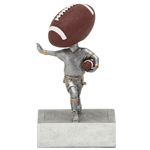 Flag Football Bobblehead Trophies