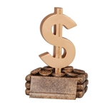 "Dollar Sign ""Money"" Trophy"