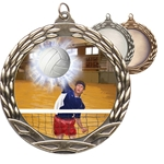 Male Volleyball Insert Medals