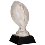 Small Football Premier Glass Trophies