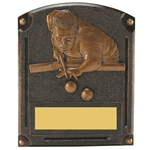 Pool Male Legends of Fame Trophy/Plaque