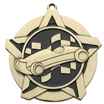 Pinewood Derby Super Star Medals