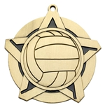 Volleyball Super Star Medals