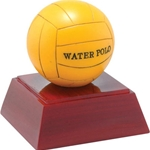 Water Polo Resin Sculpture Trophies