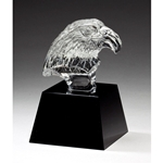 Crystal Eagle Head Trophies