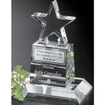 Champion Pedestal Star Crystal Awards