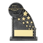 Black Hockey Shooting Star Trophies