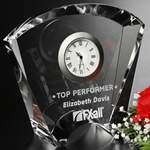 Fanfare Clock Crystal Awards