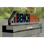 Benchmark Name Plate Custom Trophy