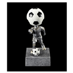 Soccer No Face Bobblehead Trophies