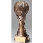 Basketball Spiral Trophies