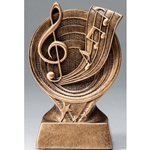 Music Saturn Resin Series Trophies