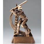 Softball Ultra Action Sports Resin Trophy