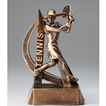 Tennis Female Ultra Action Sports Resin Trophy