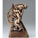 Wrestling Ultra Action Sports Resin Trophy