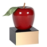 Wooden Apple Trophy