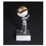 Golf No Face Bobblehead Trophies