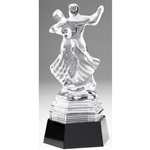 Crystal Dancing Trophy