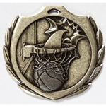 Basketball Burst Medals