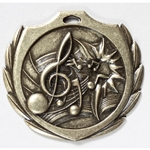 Music Burst Medals
