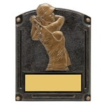 Golf Female Legends of Fame Trophy/Plaque