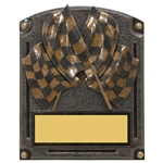 Race Flag Legends of Fame Trophy/Plaque