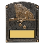 Pool Female Legends of Fame Trophy/Plaque