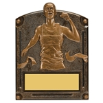 Track Male Legends of Fame Trophy/Plaque