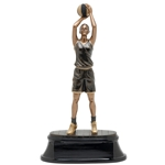 Basketball Female Power Trophies