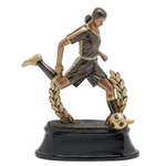 Soccer Female Power Trophies
