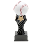 Baseball Tempest Resin Trophies