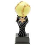 Softball Tempest Resin Trophies