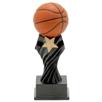 Basketball Tempest Resin Trophies
