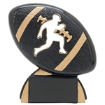 Football Shadow Sport Resin Trophies